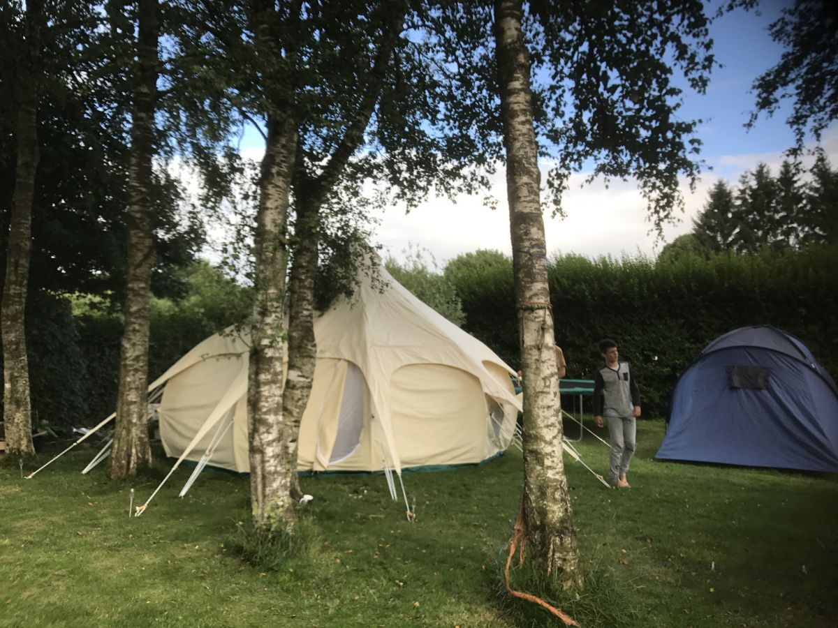 Accommodation & food 6 day retreat 2021 (camping)